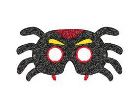Printable Halloween Spider Mask