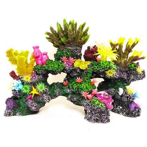 Large Aquarium Ornaments Uk by R 233 Aliste Artificielle Aquarium Coral Reef Large