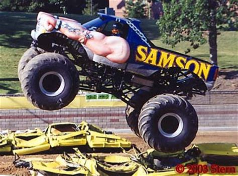 samson monster truck family vintage