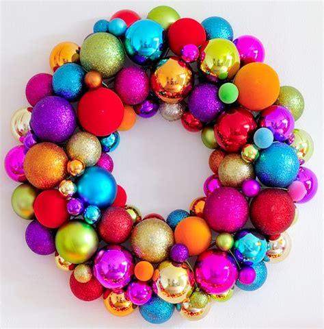 wreath christmas bauble d i y pinterest