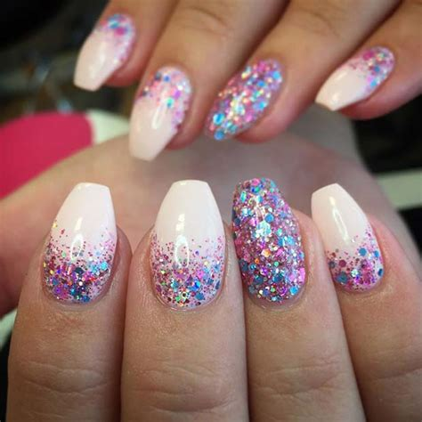 colors that go with light purple 23 gorgeous glitter nail ideas for the holidays stayglam