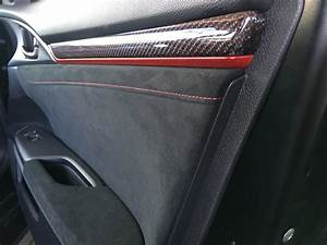 OEM Carbon Fiber interior trim pieces installed 2016