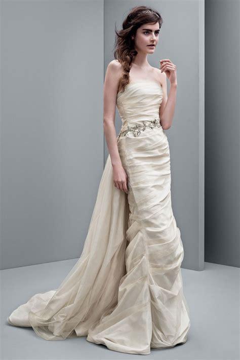 white  vera wang  fall wedding dresses fashion