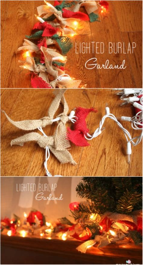 magically festive string  fairy light diys