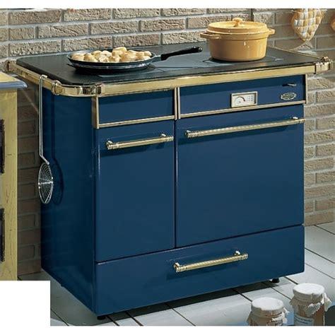 cuisiniere godin 6755 rustique bleu chatelaine cuisinierepassion fr