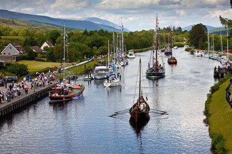 Loch Ness Canal Boat Hire by Discover The Caledonian Canal Scottish Canals
