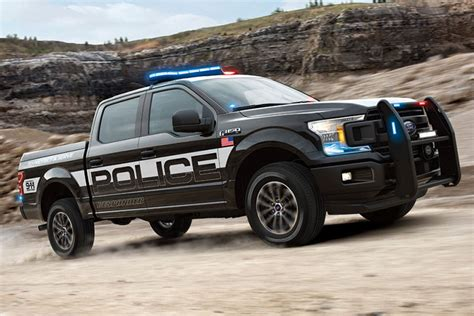 Ford Adds 2018 F150 Police Responder Pickup To Truck