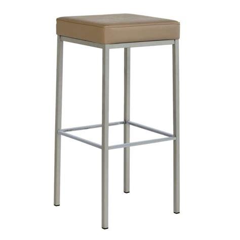tabouret de bar avec dossier 4 pieds tabouret de bar sans dossier en m 233 tal quadra 4 pieds tables chaises et tabourets