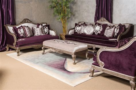 Antique Loveseats by Lisette Antique Style Palace Sofa Loveseat In Burgundy