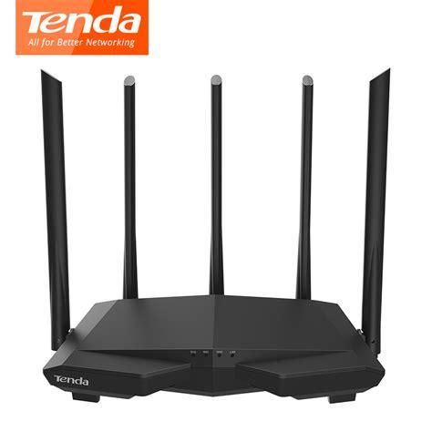 tenda ac7 wireless wifi routers 11ac 2 4ghz 5 0ghz wi fi repeater 1 wan 3 lan ports 5 6dbi high