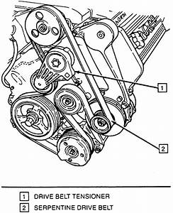 Serpentine Belt Diagram For My 1997 Cadillac Deville