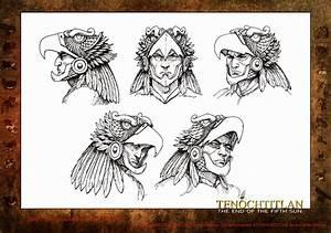 Aztec Eagle Warrior Head | www.pixshark.com - Images ...