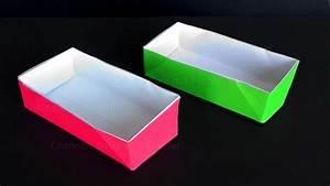 Plastikschüssel Mit Deckel : origami schachtel mit deckel basteln mit papier ~ A.2002-acura-tl-radio.info Haus und Dekorationen