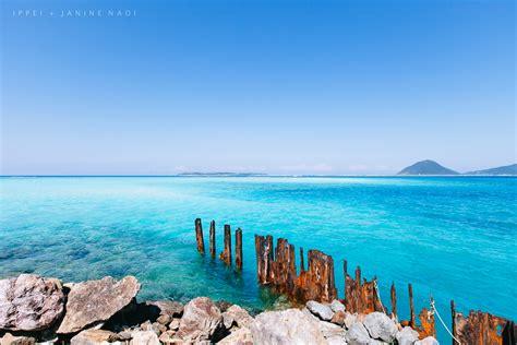 remains   port   deserted island southern japan