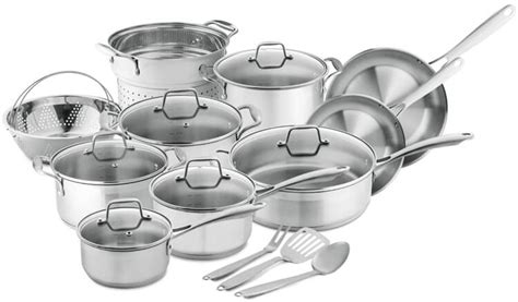 stainless steel cookware chef professional chefs rhoades shelly rating