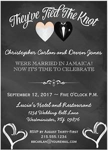 pin post wedding party invitation wording on pinterest With post wedding party invitation wording samples