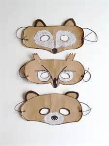 Paper Bag Animal Masks