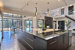 Wc Suspendu Inconvenient : cuisine moderne et chaleureuse id es maison ~ Melissatoandfro.com Idées de Décoration