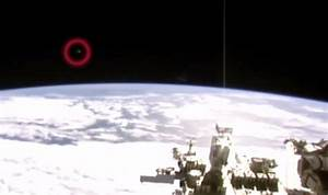 'UFOs hounding International Space Station' or evidence of ...