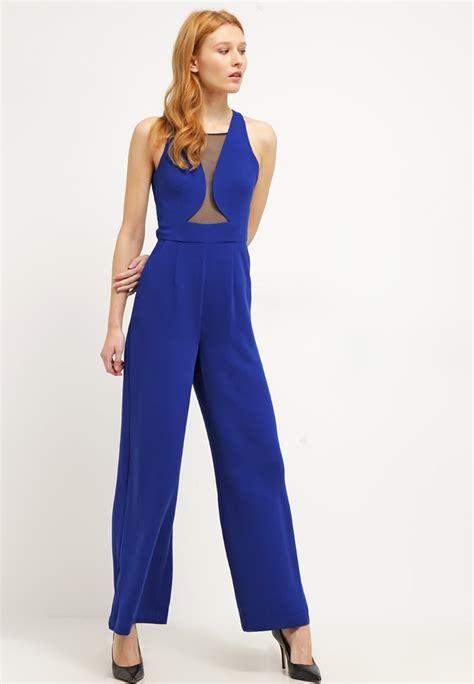 blue jumpsuits bcbgeneration jumpsuit electric blue playsuits