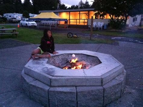 1000 Trails, Ltr Campground Fire Pit  Picture Of Seaside