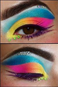 Maquillage Fluo Visage : the jewels i 39 ve never thought of doing that colors ~ Farleysfitness.com Idées de Décoration