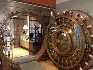 paper paintings  bank vault steampunkery  twist
