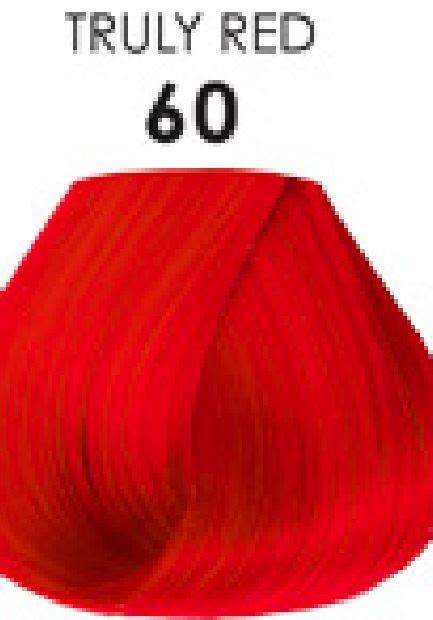 adore semi permanent hair color   red  oz