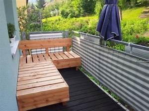 Lounge Kissen Selber Machen : diy houten vlonders bank op balkon interieur inrichting ~ Frokenaadalensverden.com Haus und Dekorationen
