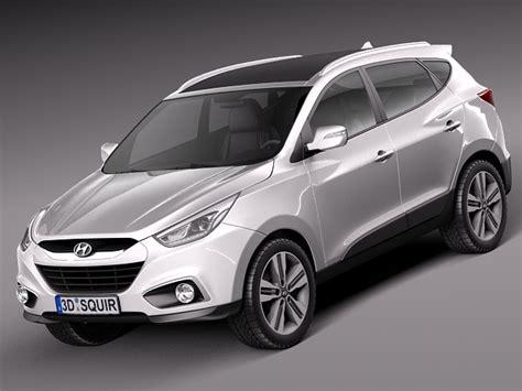 amazing hyundai car models hyundai ix35 2014 3d model max obj 3ds fbx c4d lwo