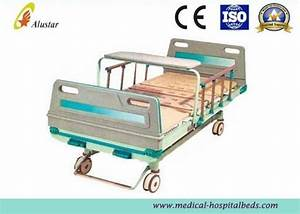 Adjustable 2 Crank Patient Bed Medical Hospital Beds With
