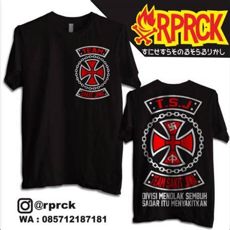 Buy 'tiktok logo' by khloekreations as a sticker. Bayar Ditempat Kaos Team Sakit Jiwa Hitam Divisi Menolak ...