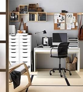 Schreibtisch Im Schlafzimmer : 9 sch ne und funktionale ideen f r deinen arbeitsbereich office arbeitsbereiche ikea ~ Eleganceandgraceweddings.com Haus und Dekorationen