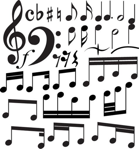 Element of music, cape town, south africa. Set of music elements vector graphic Free vector in ...