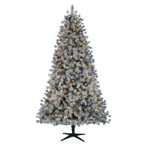 home accents holiday 7 5 ft pre lit led lexington quick
