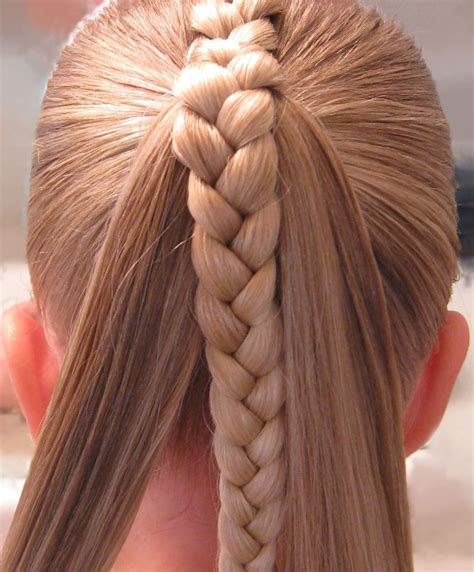 Braided Ponytail Hairstyles For 2016 2019 Haircuts