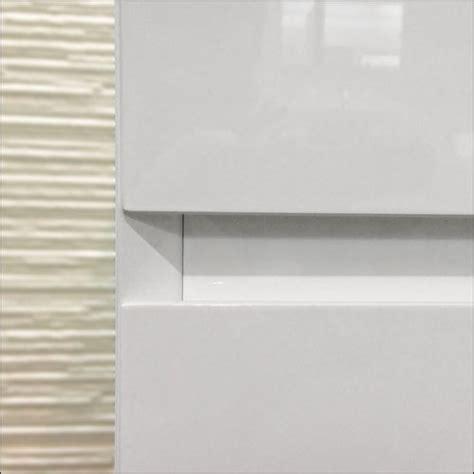 meuble salle de bain blanc 40 cm tiroir plan verre glass