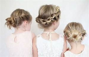 Kurze Haare Hochstecken Leicht Gemacht : 55 kreative m dchen frisuren hair styling der kleine dame ~ Frokenaadalensverden.com Haus und Dekorationen