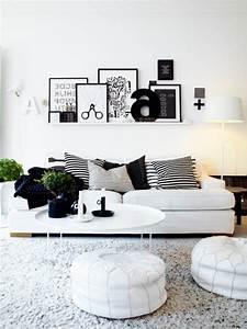 Wohnzimmer Grau Weiß Design : wohnzimmer ideen weiss grau ~ Sanjose-hotels-ca.com Haus und Dekorationen