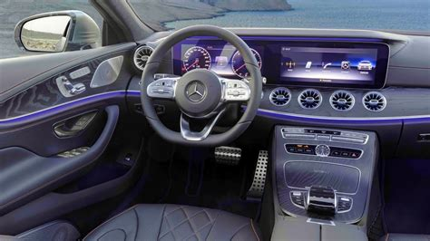 mercedes benz cls class interior  exterior trailer