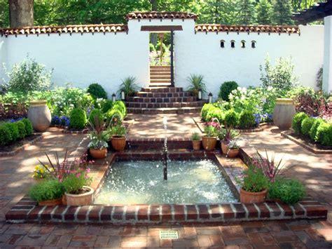 spanish courtyards spectacular  modern interior  exterior ideas  hacienda style home