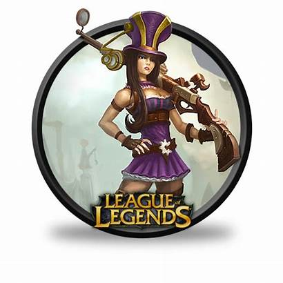 Caitlyn Icon League Legends Icons Fazie69 Ico