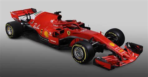 ferrari reveals sfh  formula  car