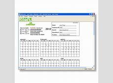 Free Monthly Attendance Calendar 2018 – 2018 Calendar Template