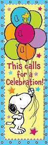 Peanuts Birthday Bookmarks for Kids | Eureka School