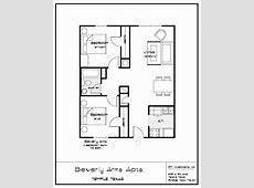 2 Bedroom Bath Apartment Floor Plans Latest