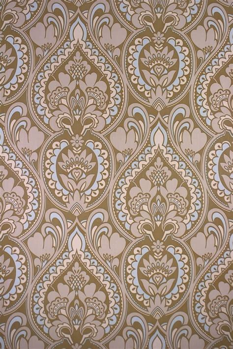 retro baroque wallpaper