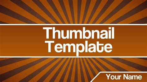 thumbnail template thumbnail template by graphicarts