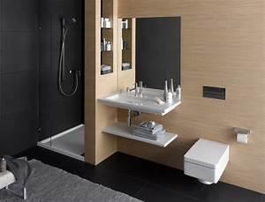 petites salles de bains nos idees deco femme actuelle With salle de bain design avec salle de séjour décoration