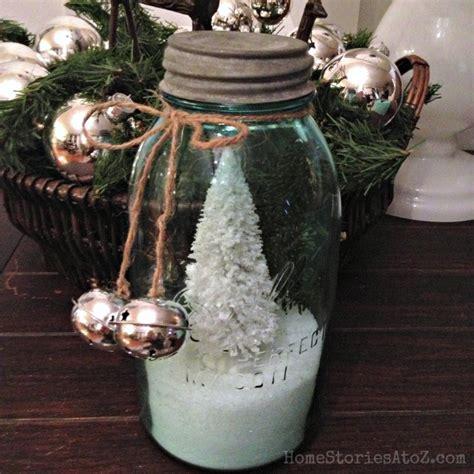 christmas mason jars home stories